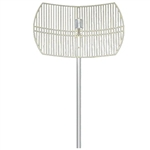 2.4-2.5Ghz 19dBi NF Grid Dish Antenna by Hana Wireless