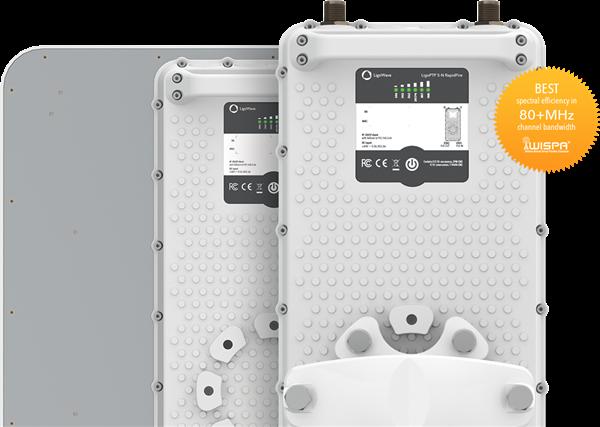 LigoWave PTP 5GHz RapidFire Bridge Radio, 2xN/f Connectors, up to 750Mbps  by LigoWave