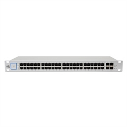 US-48-500W UniFi 48 Gigabit 24V/802.3af/at PoE 500W by Ubiquiti