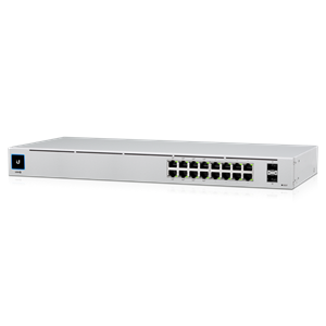 USW-16-POE UniFi Switch Gen2 Gigabit 16-Port by Ubiquiti Networks
