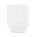 USW-FLEX UniFi® 5-Port Layer 2 Gigabit Switch With Auto-Sensing 802.3af PoE by Ubiquiti Networks